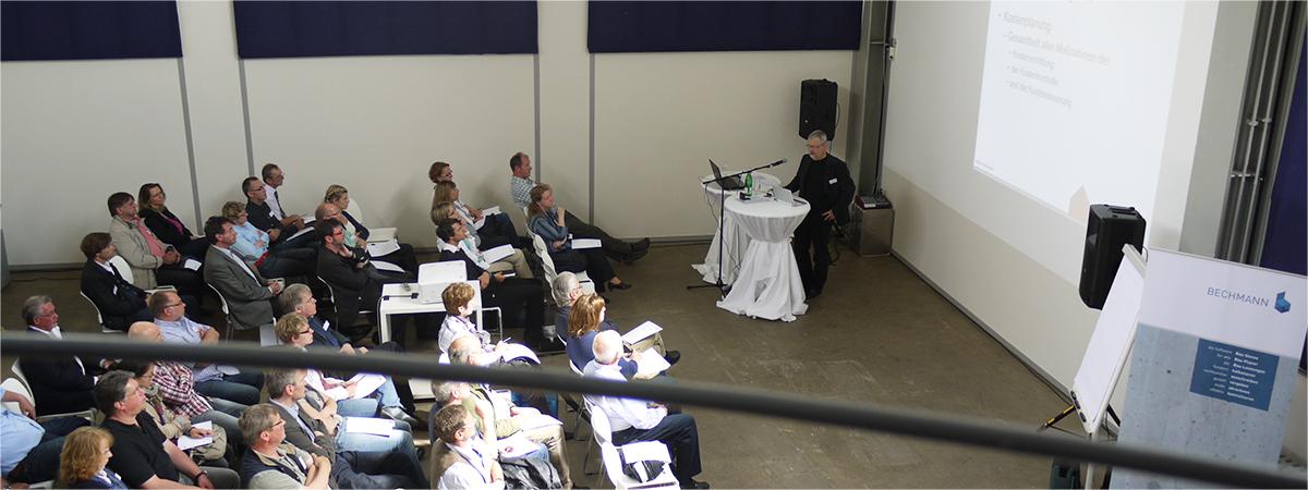 BECHMANN forum 2013 in Essen - Blick in den Vortragsraum